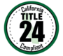 California Title 24 Compliant
